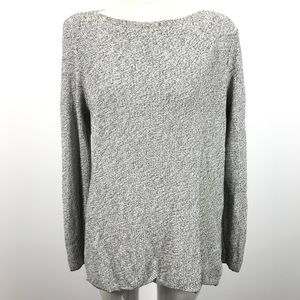 Eileen Fisher knitted long sleeve sweater top